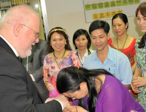 Reinhard Kardinal Marx besucht Open Factory
