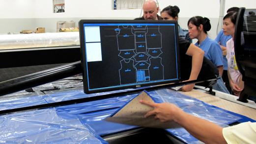 Produktionsvorbereitung an einem CAD-Arbeitsplatz