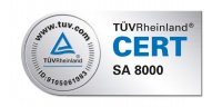 SA 8000 – Certification, TÜV tested