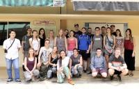 Geographiestudenten aus Trier zu Besuch in der Open Factory